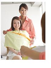 STEP3 似合う色・形・質感の診断(パーソナルカラー診断)